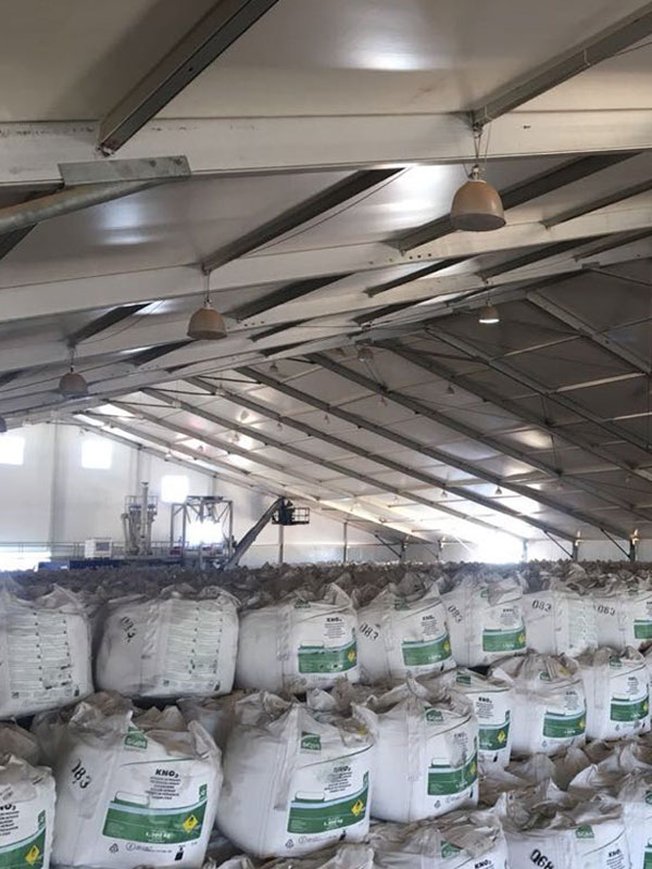 marquee storage facility for farmers