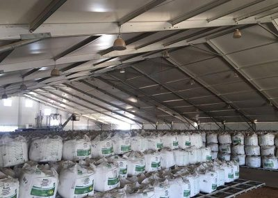 We provide storage that can protect equipment or even your harvest from the element of the weather