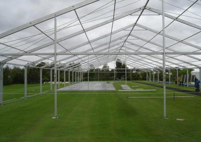 We take pride in keeping our client happy even during the dismantling of our marquees