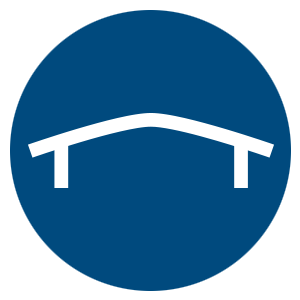 Single Radius Short Curve with Overhang icon